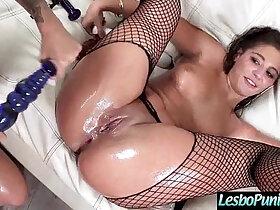 dildo porn - abella kissa Lesbo Girl Get Dildo Sex Toy Punish By Mean Lez video