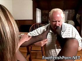 fetish porn - Nylon Foot Worship Fetish