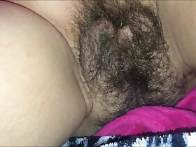 close up porn - Hot Jizz All Over her Hairy Bush