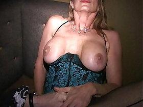 aggressive porn - Masks make MILF Martha and her friends into cum crazy cougars