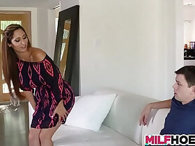 milf porn - Becoming A Man With Stunning MILF