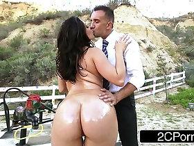 ass porn - Big Ass School Girl Gracie Glam Gives Straner a Nice Sloppy Blowjob