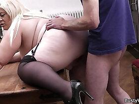 amateur porn - Busty amateur blonde secretary pleases her boss