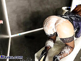 bukkake porn - Pussy rubbing glam slut