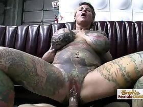 exotic porn - Exotic Tattooed MILF Hardcore Sex