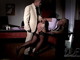 bdsm porn - Angry Boss Gives Naughty Kayla Green A Full On BDSM Lesson