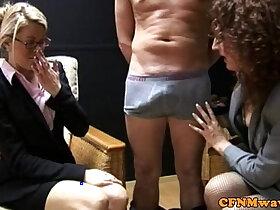 cfnm porn - CFNM hj loving business women