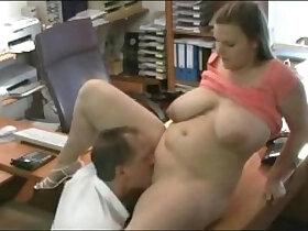 chubby porn - Fucking my Fat Chubby Secretary at the office