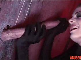 cock porn - Aliz Deepthroats Three Huge Cocks in Gloryhole HD Porn rough pornvideo.rodeo