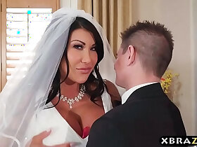bride porn - Huge natural tits bride cheats on her wedding day with best man