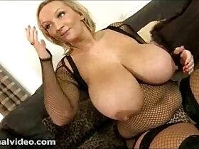 big tits porn - Nasty Big Tit British Slut sucks and Fucks Black monster Cock While Hubby is Away