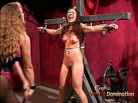 ass porn - Lovely brunette has her cute ass whipped and spanked hard