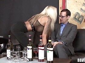 busty porn - Busty german mistress gets pussy fisted