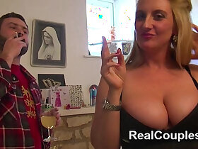 anal porn - Anal loving busty British housewife