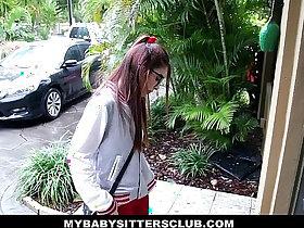 babysitter porn - MyBabySittersClub Petite Babysitter Fucked By The Horny Boss