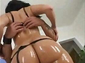anal porn - Bubble Butt Latina Rikki White Anal strapon Fuck