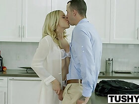 anal porn - TUSHY Bosses Wife Karla Kush First ever Anal With the Office Assistant