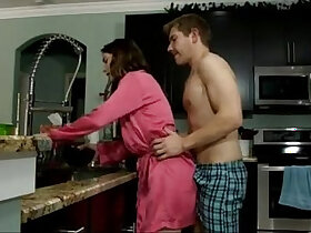 Stepson porn with naughty moms that love intercourse