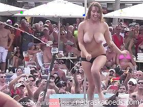 cash porn - fantasy fest 2013 dantes pool contest hot milfs and chicks compete for cash