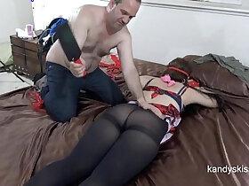 ass porn - Pantyhose Ass Smacked 50 Shades of Dr. Grey