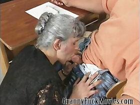 granny porn - Granny gets the job done